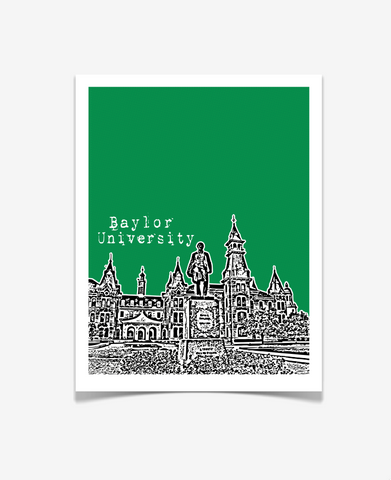 Baylor University Texas Poster