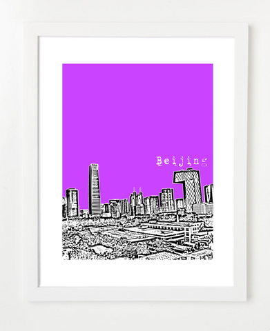 Beijing China Asia Posters and Skyline Art Prints | By BirdAve