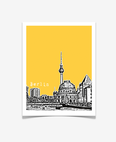 Berlin Germany Europe Poster