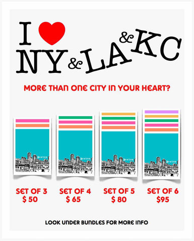 Park Slope Brooklyn New York Poster