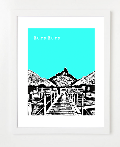 Bora Bora French Polynesia France Poster