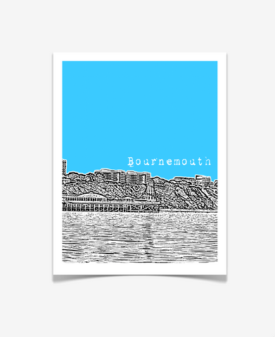 Bournemouth England Europe Poster