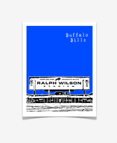 Buffalo Bills New York Poster