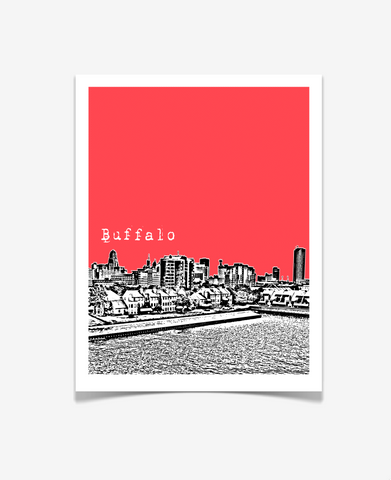Buffalo New York Poster