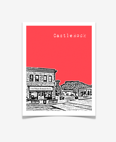 Castle Rock Colorado Poster