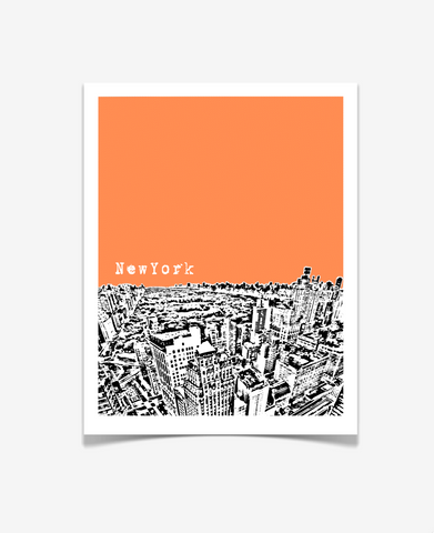 New York City Central Park Poster