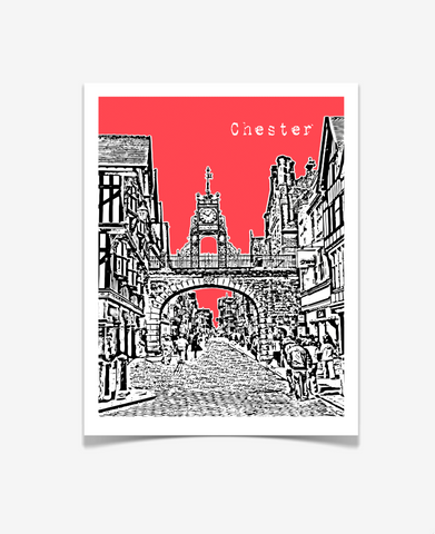 Chester England Europe Posters
