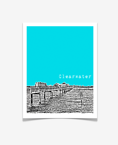 Clearwater Florida Poster