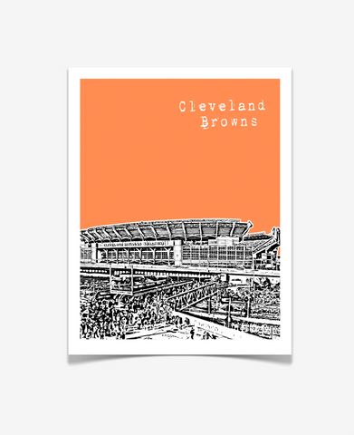 Cleveland Browns Ohio Poster