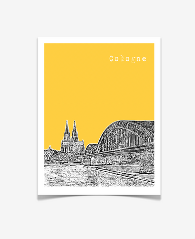 Cologne Germany Europe Posters