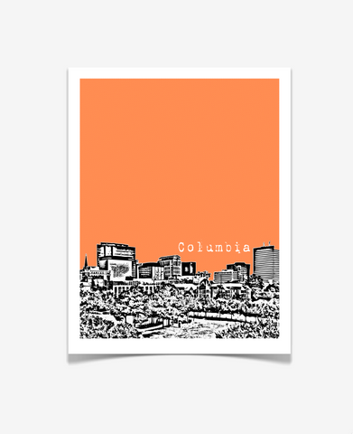 Columbia South Carolina Poster