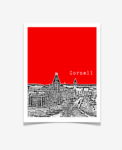 Cornell University Ithaca New York Poster