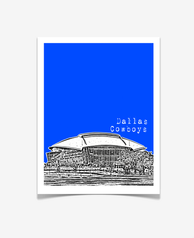 Dallas Cowboys Stadium Texas Poster