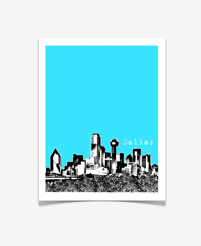 Dallas Texas Poster VERSION 1