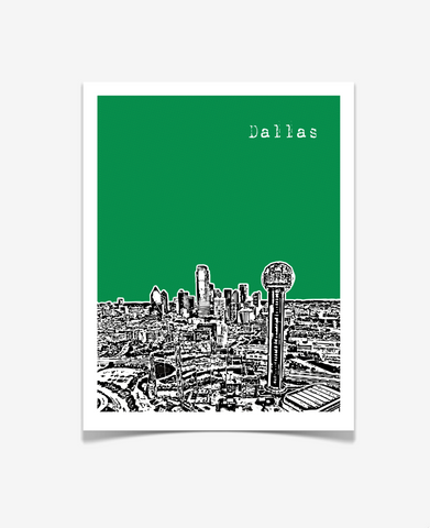 Dallas Texas Poster VERSION 2