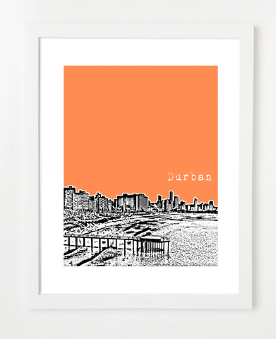 Durban South Africa Poster