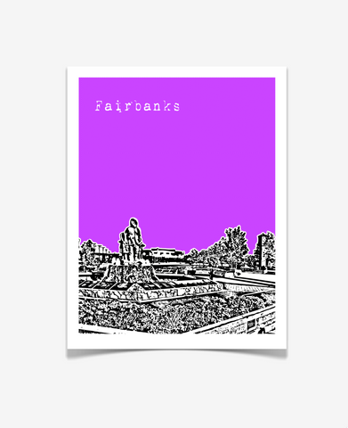 Fairbanks Alaska Poster