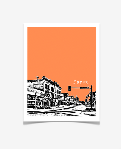 Fargo North Dakota Poster