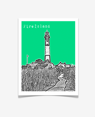 Fire Island New York Poster