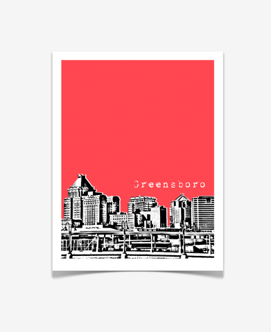 Greensboro North Carolina Poster
