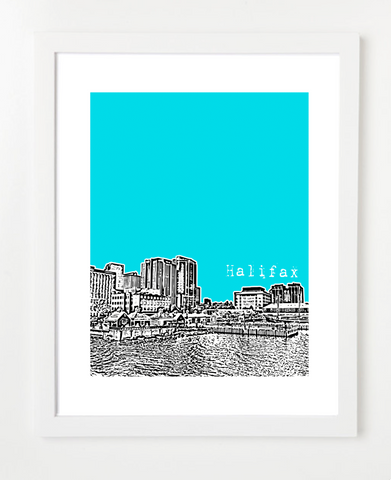 Halifax Nova Scotia Canada Posters and Skyline Art Prints | By BirdAve Posters