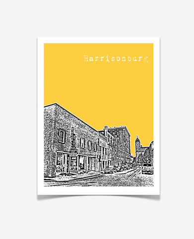 Harrisonburg Virginia Poster