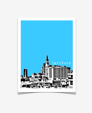 Hartford Connecticut Poster