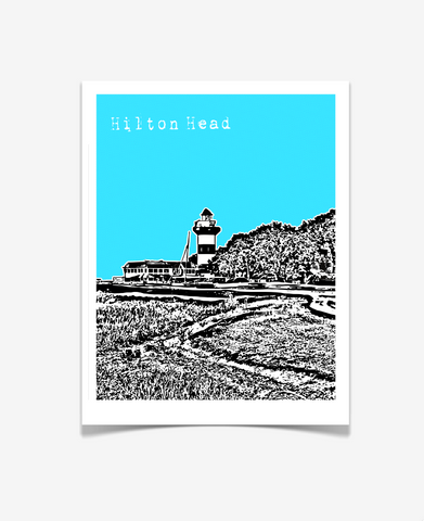 Hilton Head South Carolina Poster
