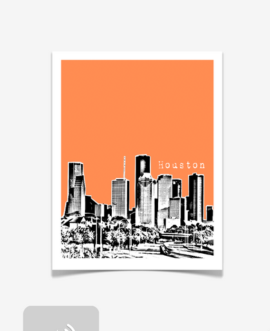 Houston Texas Poster