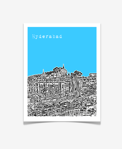 Hyderabad India Asia Poster