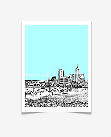 Indianapolis Indiana Poster
