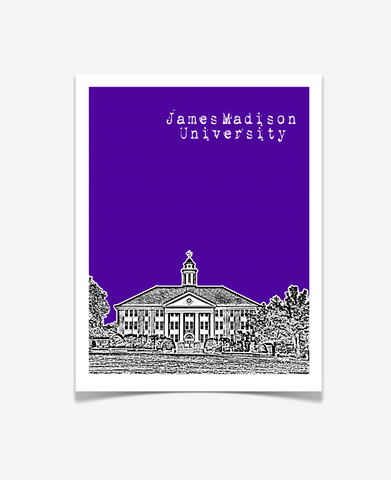 James Madison University Virginia Poster