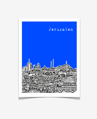 Jerusalem Israel Middle East Poster