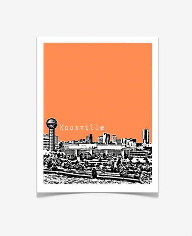Knoxville Tennessee Poster