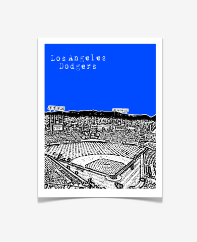 Los Angeles Dodgers Dodger Stadium Poster