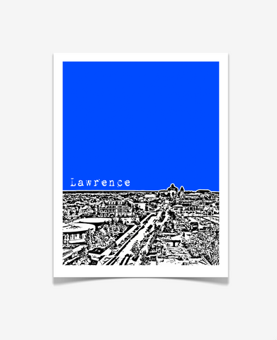 Lawrence Kansas University of Kansas Poster