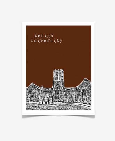 Lehigh University Pennsylvania Poster
