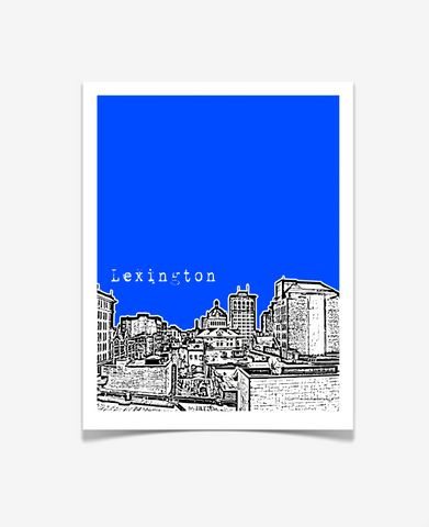Lexington Kentucky Poster