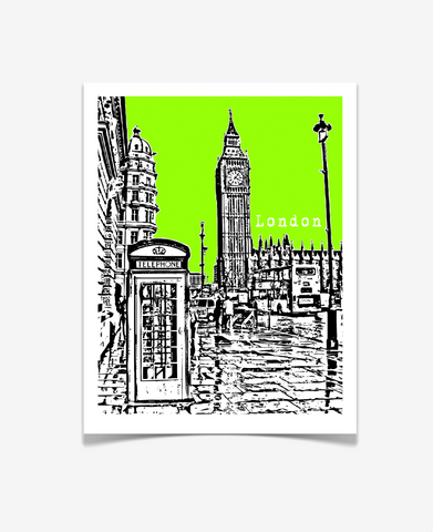 London England Big Ben Europe Poster