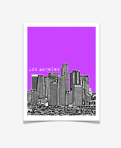 Los Angeles California Poster - VERSION 3