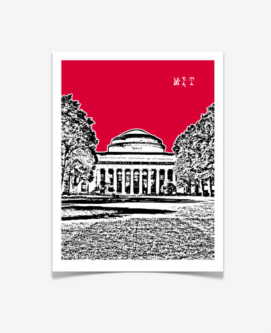 Boston Massachusetts Institute of Technology MIT Poster