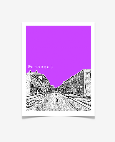 Manassas Virginia Poster