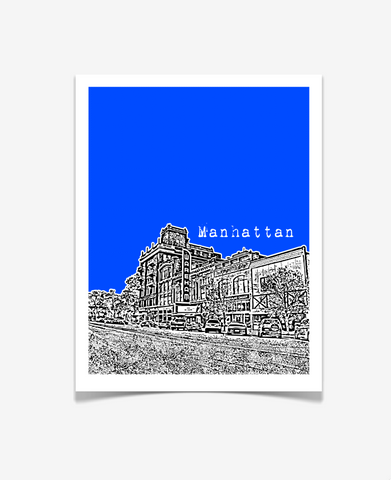 Manhattan Kansas - Kansas State University Poster