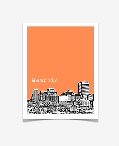 Memphis Tennessee Poster