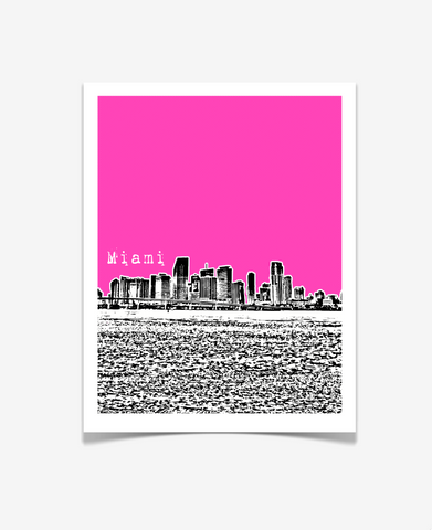 Miami Florida Poster - VERSION 3