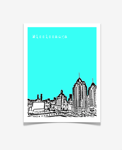 Mississauga Ontario Canada Poster