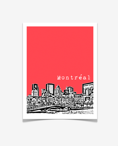 Montreal Quebec Canada Poster