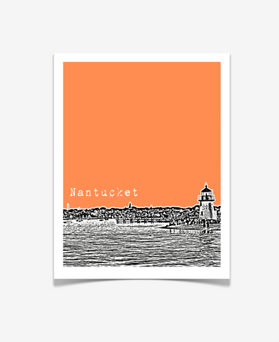 Nantucket Massachusetts Poster