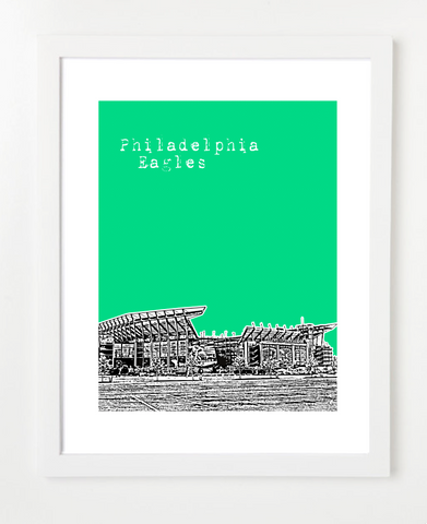 Pennsylvanias and Skyline Art Prints | By BirdAve