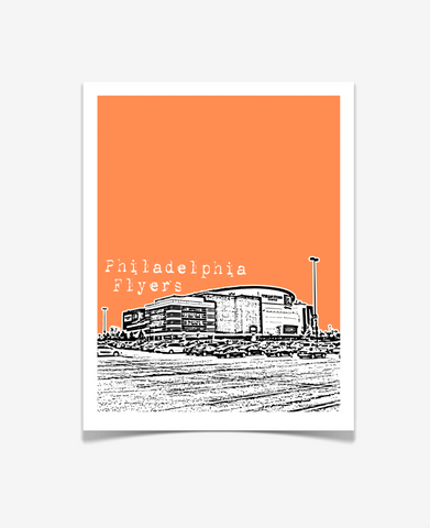 Philadelphia Flyers Pennsylvania Poster